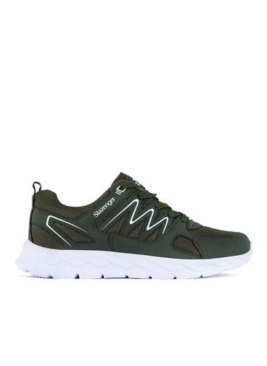 Slazenger Slazenger KROM  Yürüyüş Erkek Ayakkabı Haki Haki